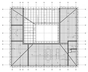 Vila Bruun - Výkres střechy - foto: Arkkitehtitoimisto Seppo Häkli Ky