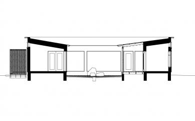 Vila Bruun - Řez - foto: Arkkitehtitoimisto Seppo Häkli Ky