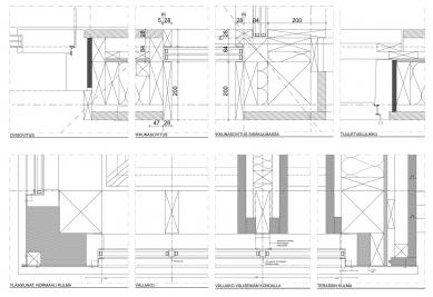 Vila Bruun - Detaily - foto: Arkkitehtitoimisto Seppo Häkli Ky