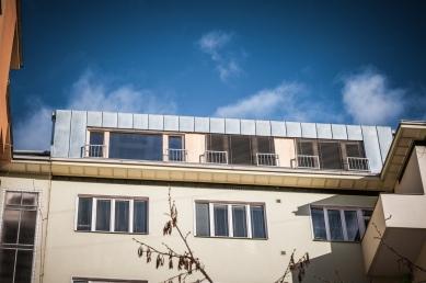 Půdní vestavba dvou bytů  - foto: Jan Martínek