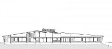 Mateřská školka Omenapuisto - Řez - foto: Arkkitehtitoimisto Seppo Häkli Ky