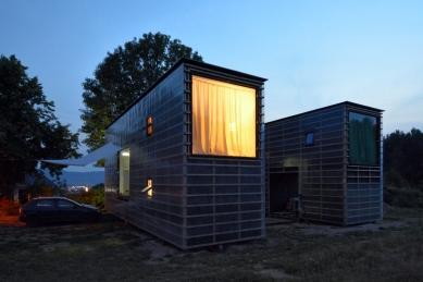 Zen-Houses - Ateliér a dům - foto: Petr Šmídek, 2013