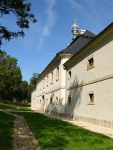Klášterní kostel trapistů v Novém Dvoře - foto: Ateliér Soukup