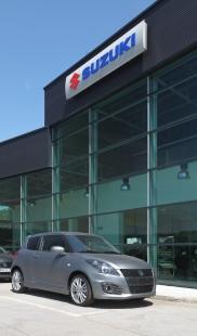 Rekonštrukcia autosalónu Suzuki