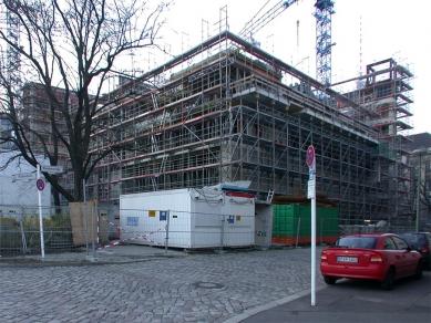 Dutch Embassy in Berlin - Foto ze staveniště 17.března 2002 - foto: Petr Šmídek, 2002