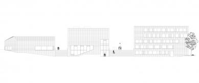 Univerzitní knihovna a Multifunkční centrum UJEP - Pohled - foto: SIAL architekti a inženýři