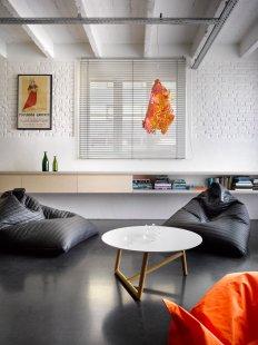 Rekonstrukce bytu v Holešovicích - foto: Filip Šlapal