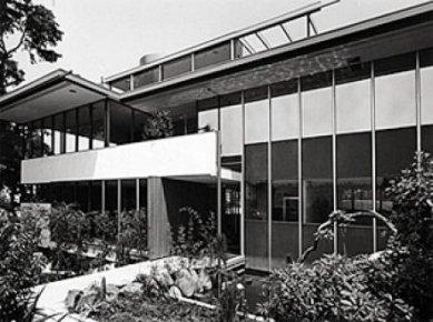 Vlastní dům Richarda Neutry s ateliérem - Historický snímek
