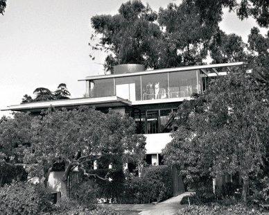 Vlastní dům Richarda Neutry s ateliérem - Historický snímek II. etapy