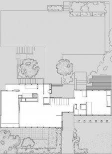 Vlastní dům Richarda Neutry s ateliérem - Situace