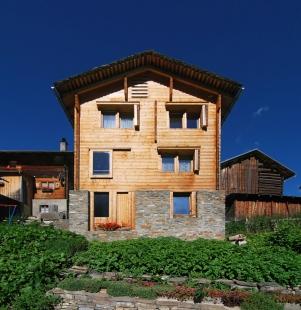 Gion Caminada House - foto: Petr Šmídek, 2009