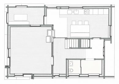 Gion Caminada House - Půdorys
