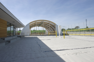 Areál plážového volejbalu Beachwell Pelhřimov - foto: Jiří Ernest