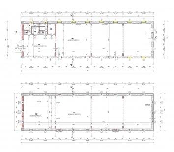 JACER – rekonstrukce konírny - Půdorysy - foto: 3+1 architekti