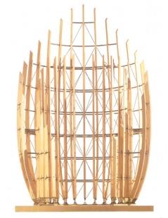Jean Marie Tjibaou Cultural Centre - Model - foto: © Renzo Piano Biulding Workshop