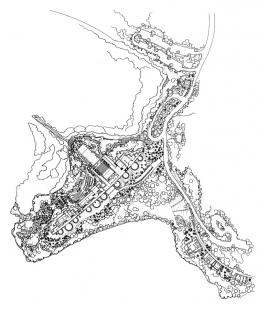 Jean Marie Tjibaou Cultural Centre - Situace - foto: © Renzo Piano Biulding Workshop