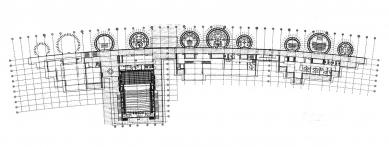 Jean Marie Tjibaou Cultural Centre - Půdorys přízemí - foto: © Renzo Piano Biulding Workshop