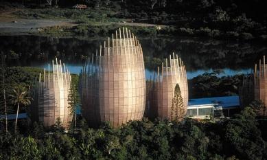 Jean Marie Tjibaou Cultural Centre - foto: © Hans Schlupp / architekturphoto