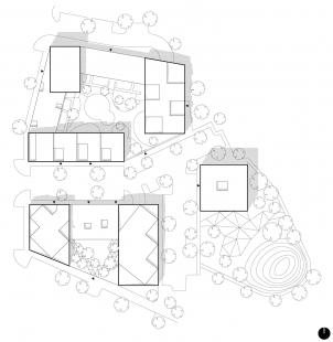 Obytný komplex Nová terasa - Situace