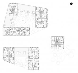 Obytný komplex Nová terasa - 3. NP
