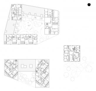 Obytný komplex Nová terasa - 5. NP