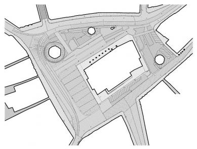 Úpravy Horního náměstí - Půdorys - foto: archiv autorů