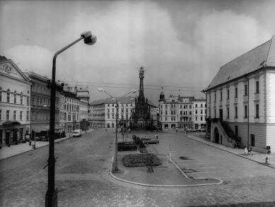 Úpravy Horního náměstí - Původní stav - foto: archiv autorů