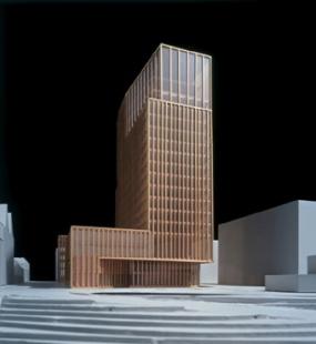 Hotel Empire Riverside - Model - foto: David Chipperfield Architects