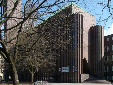 Kostel Hohenzollernplatz - foto: Jiří Žid, 2011