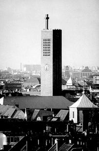 Kostel Hohenzollernplatz - Historický snímek