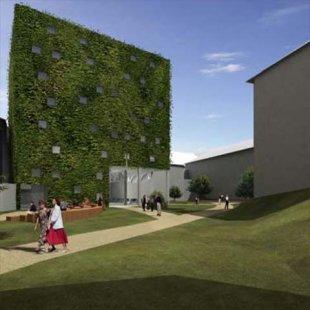 Revitalizace centra Náchoda - Vítězný projekt soutěže Hudebně dramatická laboratoř JAMU
