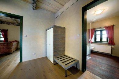 Rekonstrukce a interiér viničního domu Sklenářka