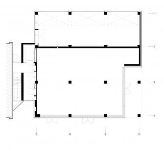 Polyfunkční dům D - Půdorys