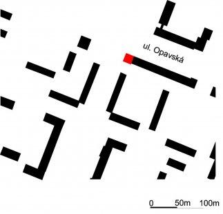 Polyfunkční dům D - Situace