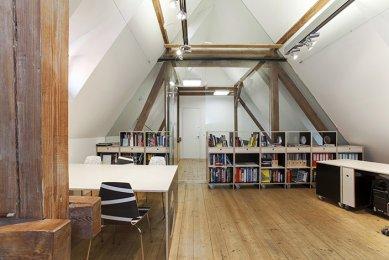 Kancelář Galerie Jaroslava Fragnera - foto: P. Hajská