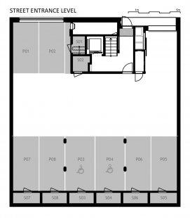 Novostavba bytového domu Fastrova 7 - 1NP