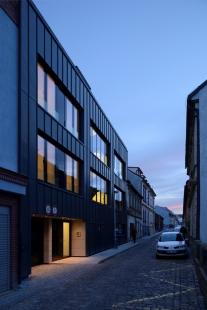 Novostavba bytového domu Fastrova 7 - foto: Ondřej Polák