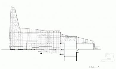 Spalovna odpadu - Řez A-A' - foto: Erick van Egeraat associated architects
