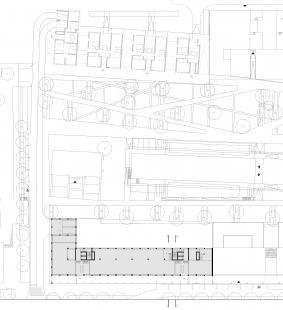 Administrativní budova Rohan – River Garden - Půdorys parteru