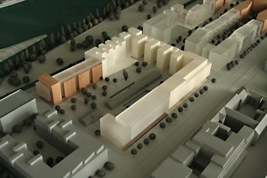 Administrativní budova Rohan – River Garden - Model