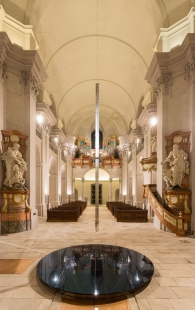 Rekonstrukce kostela Nalezení svatého Kříže vLitomyšli - foto: Oto Nepilý, Jakub Karlíček