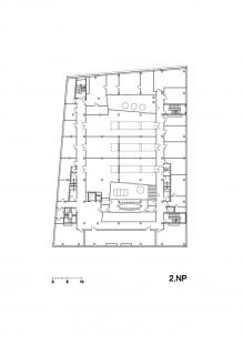 Budova L TUL - Půdorys 2.np