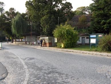 Autobusové nádraží v Kloboukách u Brna - Původní stav - foto: Atelier Walter