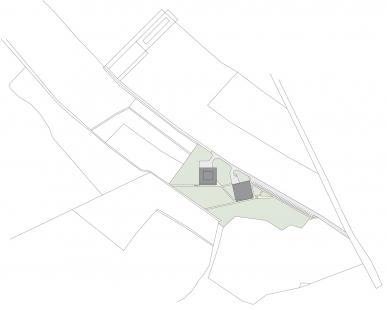 Ekologické centrum Rychleby - Situace - foto: knesl+kynčl architekti