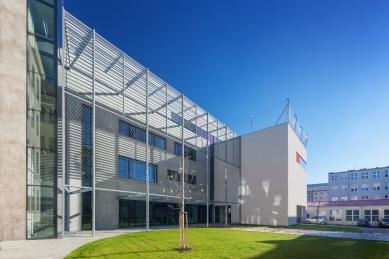Dostavba budovy Slovanského gymnázia v Olomouci - foto: Lukáš Pelech