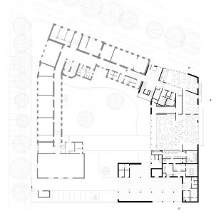 Dostavba budovy Slovanského gymnázia v Olomouci - 2. NP