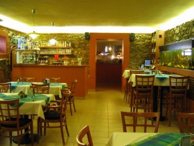 Restaurace Peppino - Původní stav