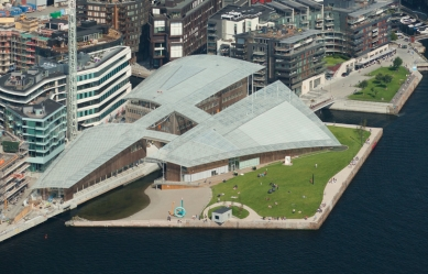 Astrup Fearnley Museum of Modern Art - Letecký pohled