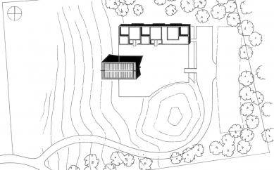 Enghøj Church and Parish Center - Situace - foto: Henning Larsen Architects