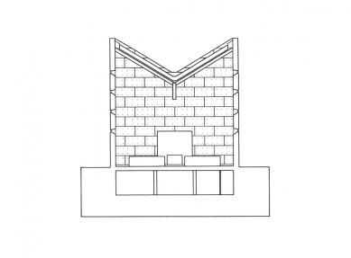 Enghøj Church and Parish Center - Příčný řez - foto: Henning Larsen Architects